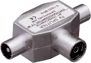Koax csatlakozós antenna elosztó 5...1000 MHz, 1 be-/2 kimenet, Renkforce 801302 Renkforce