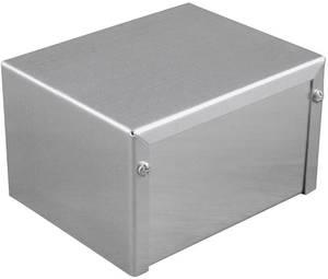 Ipari műszerdoboz alumínium, natúr 81 x 56 x 41 Hammond Electronics 1411DU 1 db Hammond Electronics