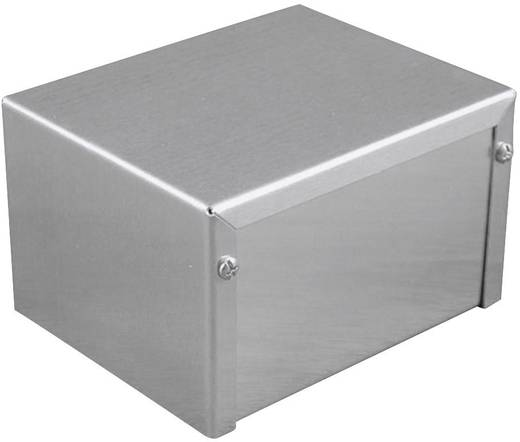 Ipari műszerdoboz alumínium, natúr 102 x 56 x 56 Hammond Electronics 1411HU 1 db