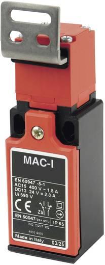Végálláskapcsoló 400 V/AC/10 A, hajlított, gumírozott, Panasonic MA155T87X11