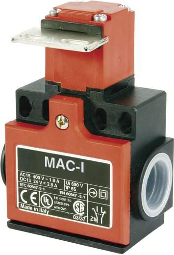 Végálláskapcsoló 400 V/AC/10 A, egyenes, gumírozott, Panasonic MA165T88X11