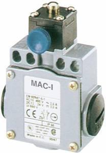 Végálláskapcsoló 400 V/AC/10 A, görgős/karos, Panasonic MDM5R41Z11 Panasonic