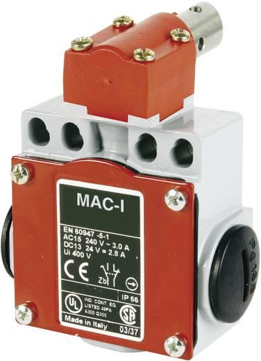 Karos ajtónyitás kapcsoló 400 V/AC/10 A, acél forgó tengellyel, Panasonic