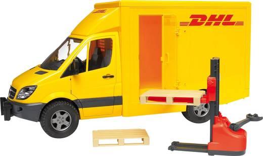Játékautó, Mercedes Sprinter DHL csomagszállító