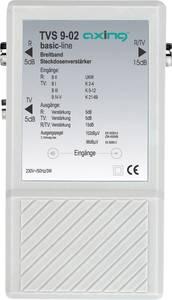 Antenna jelerősítő és elosztó, szélessávú +10dB Axing TVS 9-02 Axing