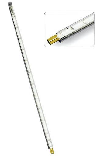 LED szalag csatlakozóval, merev, 12 V 30 cm, zöld, 289528