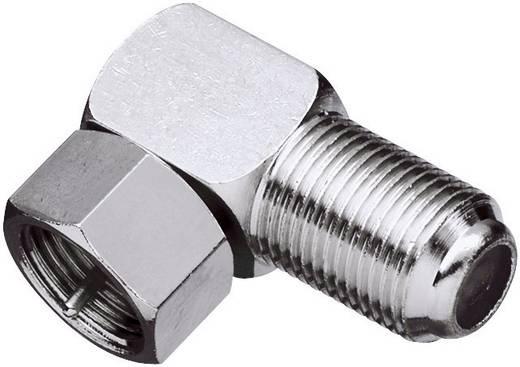 SAT könyök adapter, F dugó – F alj, renkforce 403395