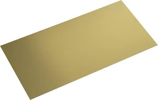 Modelcraft sárgaréz lemez 400 x 200 x 0,6 mm