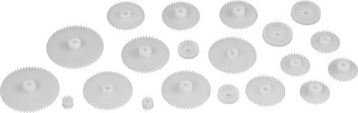Modelcraft kettős fogaskerék készlet M0,5, 20 db