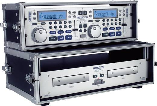 19 collos rack 3 U CD-Player-Case Alumínium Fogantyúval