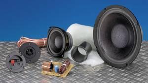 Hangfal építőkészlet, hangszórókkal, hangváltóval 3 utas hangfal építéséhez SpeaKa 300290 SpeaKa Professional