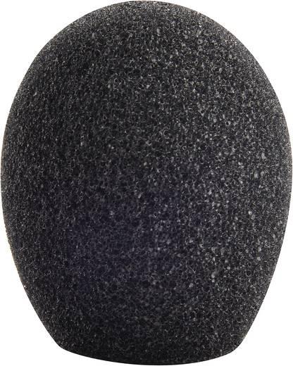 Mikrofon szélvédő szivacs, fekete, 25-35 mm, Mc Crypt 8201