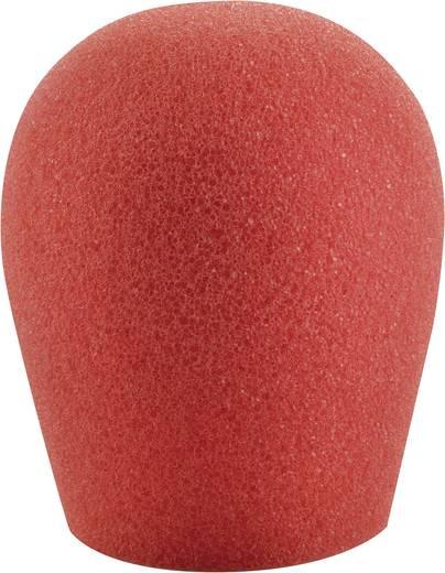 Mikrofon szélvédő szivacs, piros, 30-45 mm, Mc Crypt