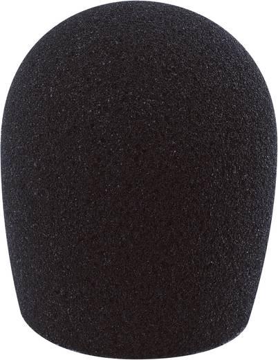 Mikrofon szélvédő szivacs, fekete, 40-55 mm, Mc Crypt