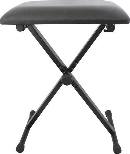 Zongorapad, zongoraszék, billentyűs pad, állítható magasságú 480-550 mm, MSA