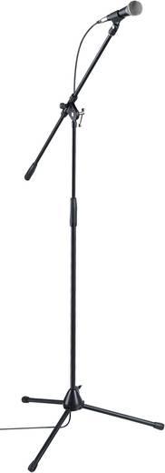 Kezdő mikrofon készlet, ének mikrofonnal, mikrofon állvánnyal Paccs Megastar HMKSBK
