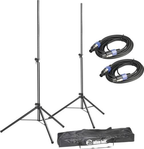 Összecsukható hangfal állvány, statív és kábel készlet párban