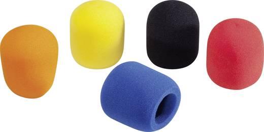 Mikrofon szélvédő szivacs készlet, színes, 5 db, 40-50 mm