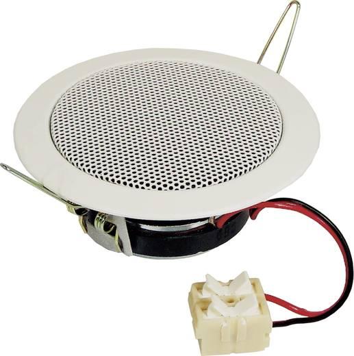 Mennyezetbe építhető hangszóró 30W/8Ω, fehér színű Visaton DL-8