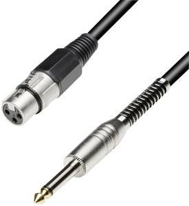 Adapter kábel 3 m sztereo 6,3 jack dugó/XLR alj, Paccs Paccs