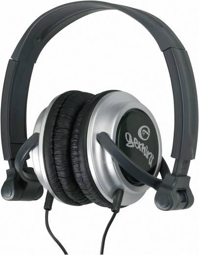 DJ fejhallgató, összecsukható Gemini DJX-03