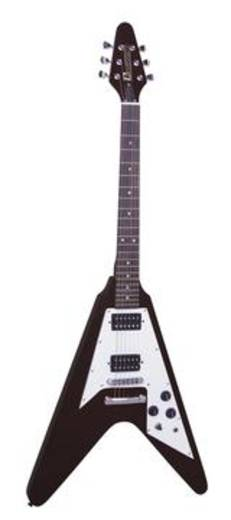 E-gitár MSA Musikinstrumente FV-520 Fekete<