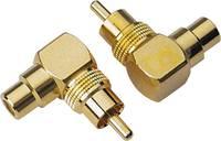 Cinch szögben állítható adapter Sinuslive CWS [1x RCA dugó - 1x RCA csatlakozóaljzat] Sinuslive