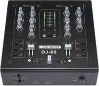 MC CRYPT DJ-60 BLACK-EDITION DJ-MIXER Mc Crypt