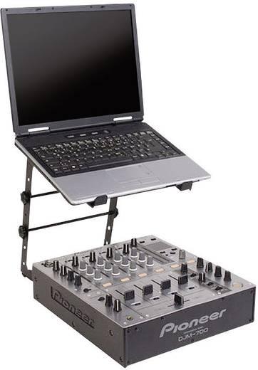 Laptop állvány, notebook tartó DJ állvány Adam Hall SLT001