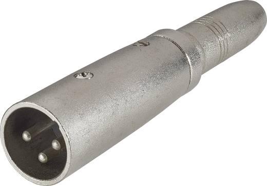XLR dugó/sztereo 6,3 jack alj adapter, Paccs