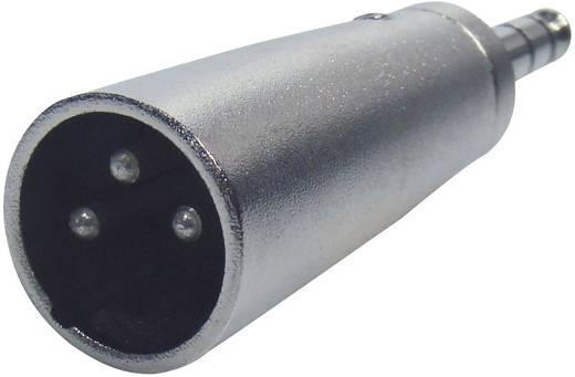 XLR dugó/sztereo 6,3 jack dugó adapter, Paccs