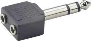 2 x sztereo 3,5 jack alj/sztereo 6,3 jack dugó adapter, Paccs Paccs