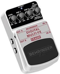 Multieffekt digitális effektpedál, Behringer FX600 Behringer