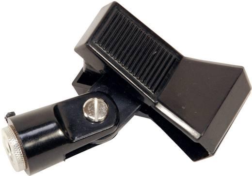 Mikrofon kengyel, csíptetős mikrofon tartó Ø 35 mm-ig, Paccs