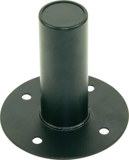 PA hangszóró beépíthető talp állványhoz, acél, Paccs
