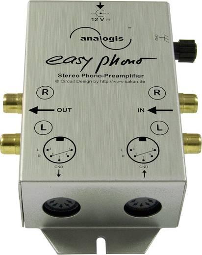 Lemezjátszó, Phono előerősítő, RIAA korrektor Analogis Easy Phono