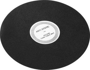 Antisztatikus slipmat filckorong, bakelit lemezjátszókhoz Analogis Strobo Analogis