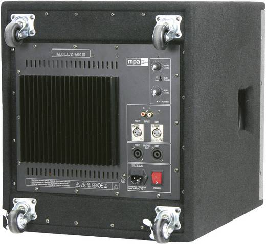 Aktív PA hangfal szett, MPA M.I.L.L.Y. 2.0 MK III