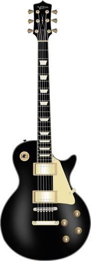 E-gitár LP-520 fekete/arany