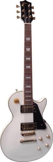E-gitár LP-520 fehér/arany