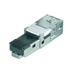 Weidmüller 1132030000 Érzékelő-/működtető összekötő, konfekcionálatlan RJ45 dugó betét 10 db Weidmüller