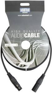 DMX kábel, 6m-es XLR kábel toldó hosszabbító adam hall KDMX6 AH Cables