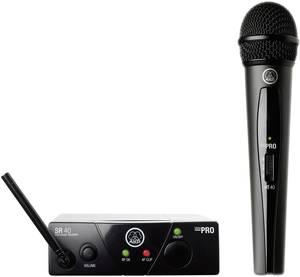 Mini vocal készlet ISM 1, AKG WMS 40 AKG ISM 1, 863 MHz, 65 - 20 000 Hz, 100 m, 30 felett h AKG