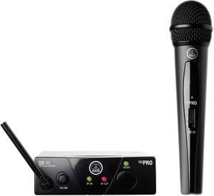 Mini vokál készlet, AKG WMS 40, ISM 2, 864 MHz, 65 - 20 000 Hz, 100 m, 30 felett h AKG