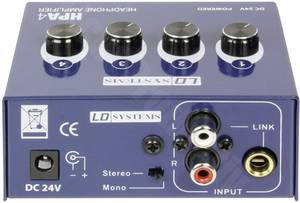 Fejhallgató erősítő LD Systems LDHPA4 LD Systems