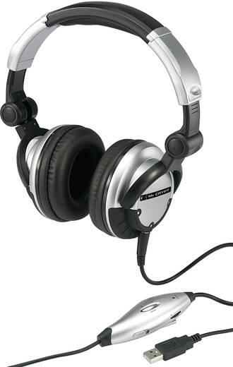 Mc Crypt DJ-9500 USB-s DJ fejhallgató
