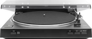Lemezjátszó, USB digitalizáló lemezjátszó, fekete színű MP04 Dual DT 210 Dual