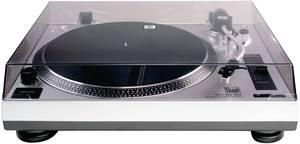Dual DTJ 301 lemezjátszó, USB digitalizáló lemezjátszó, direkt meghajtású ezüst színű 70652 Dual