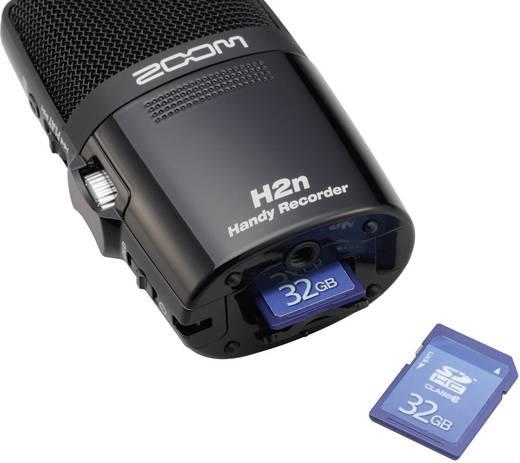 Hordozható audio felvevő Zoom H2n Fekete