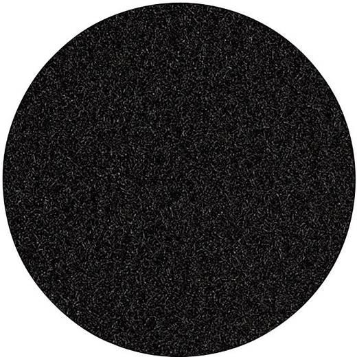 Velúrfilc bevonó anyag fekete